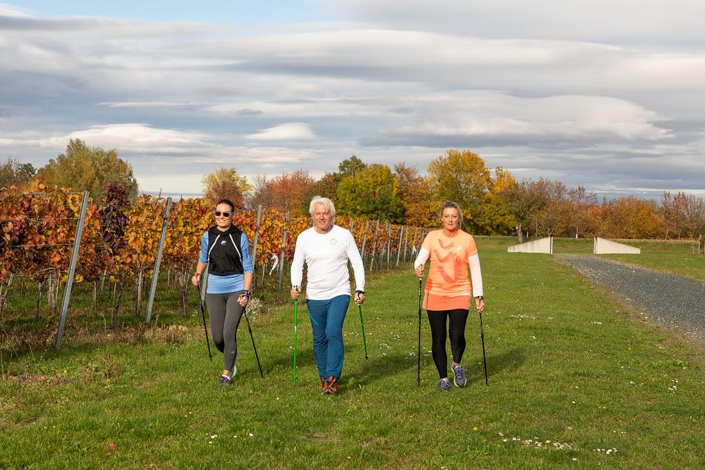 Ein Spaziergang oder eine Runde Nordic Walking an der frischen Luft stärkt das Immunsystem