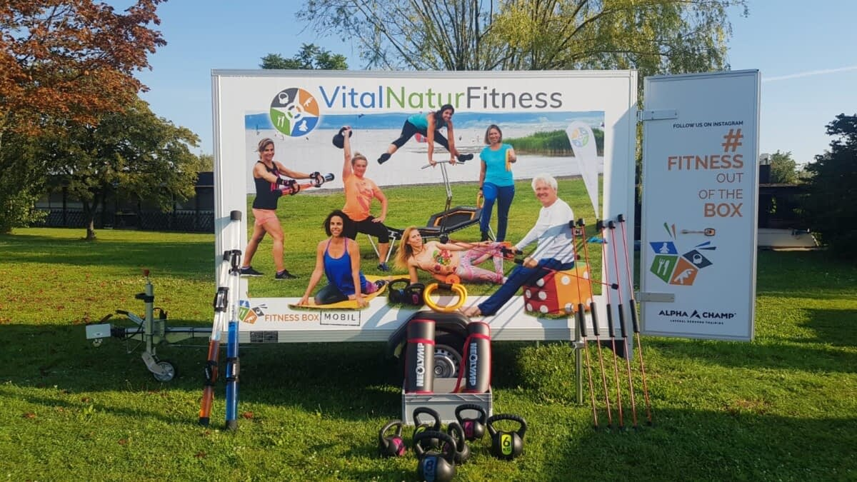 "Vital Natur Fitness ""Out of the Box"" Mobil"